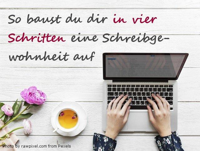 Computer-Schreibgewohnheit aufbauen