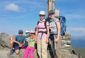 Pfannspitz-Gipfel Karnischer Höhenweg