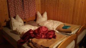 Betten in der Leckfeldalm