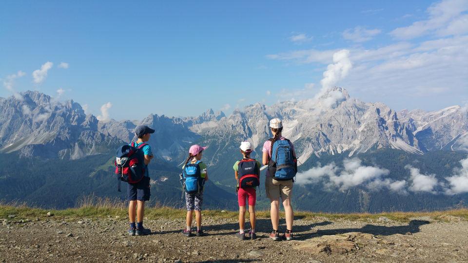 Blick auf Sextner Dolomiten