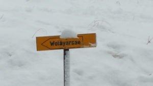 Wegweiser Wolayersee