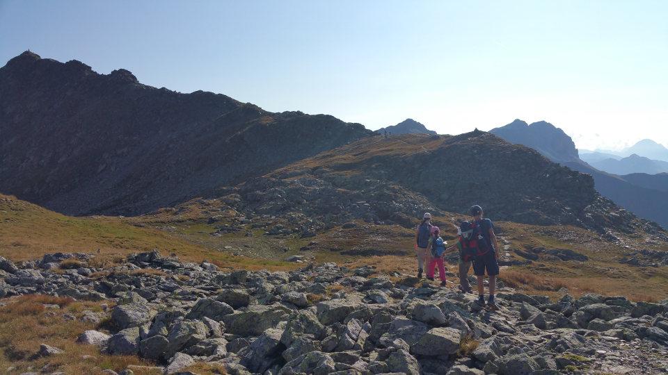 Weg zum Gipfel Karnischer Höhenweg