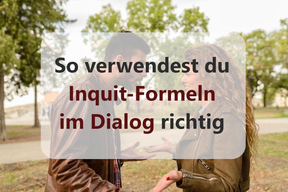 Inquit-Formeln Gespräch