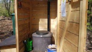 Komposttoilette von innen