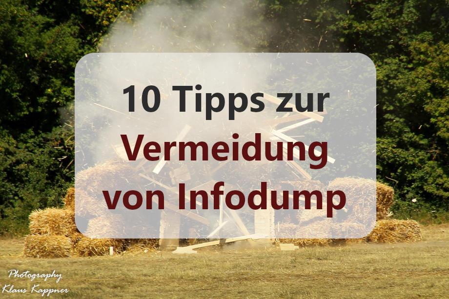 10 Tipps zur Vermeidung von Infodump