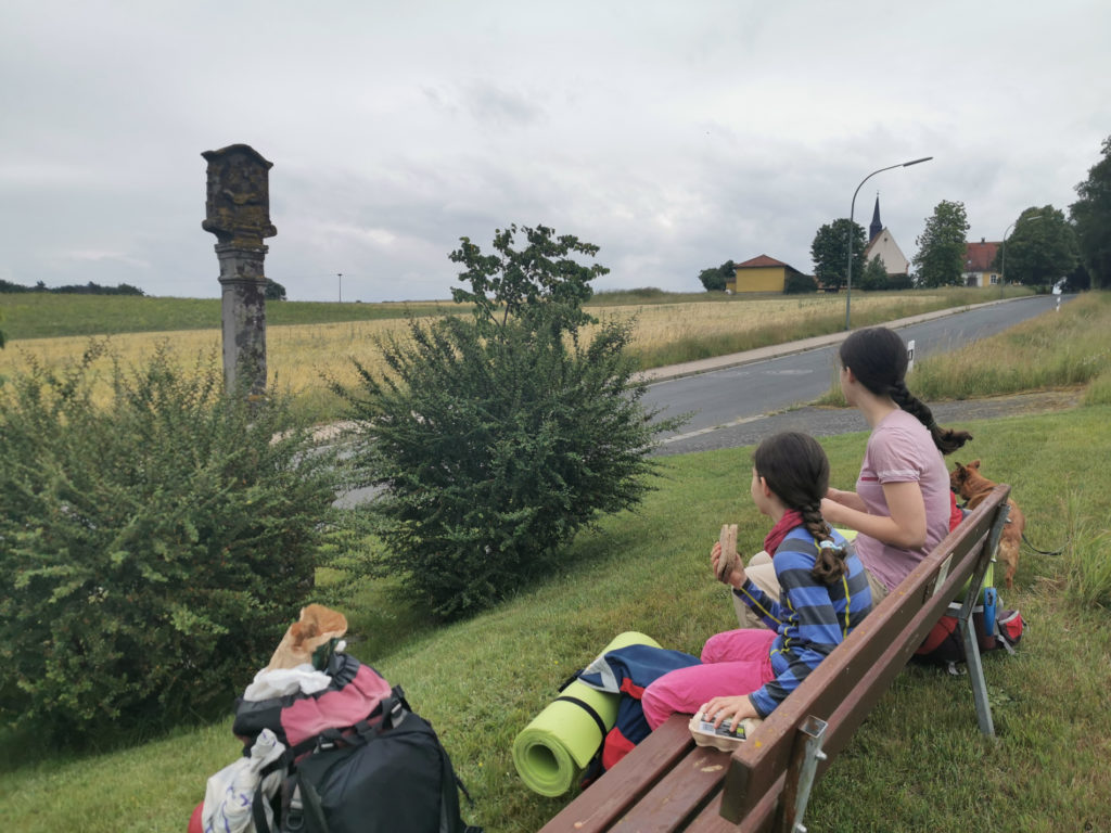 Pause in Großgressingen