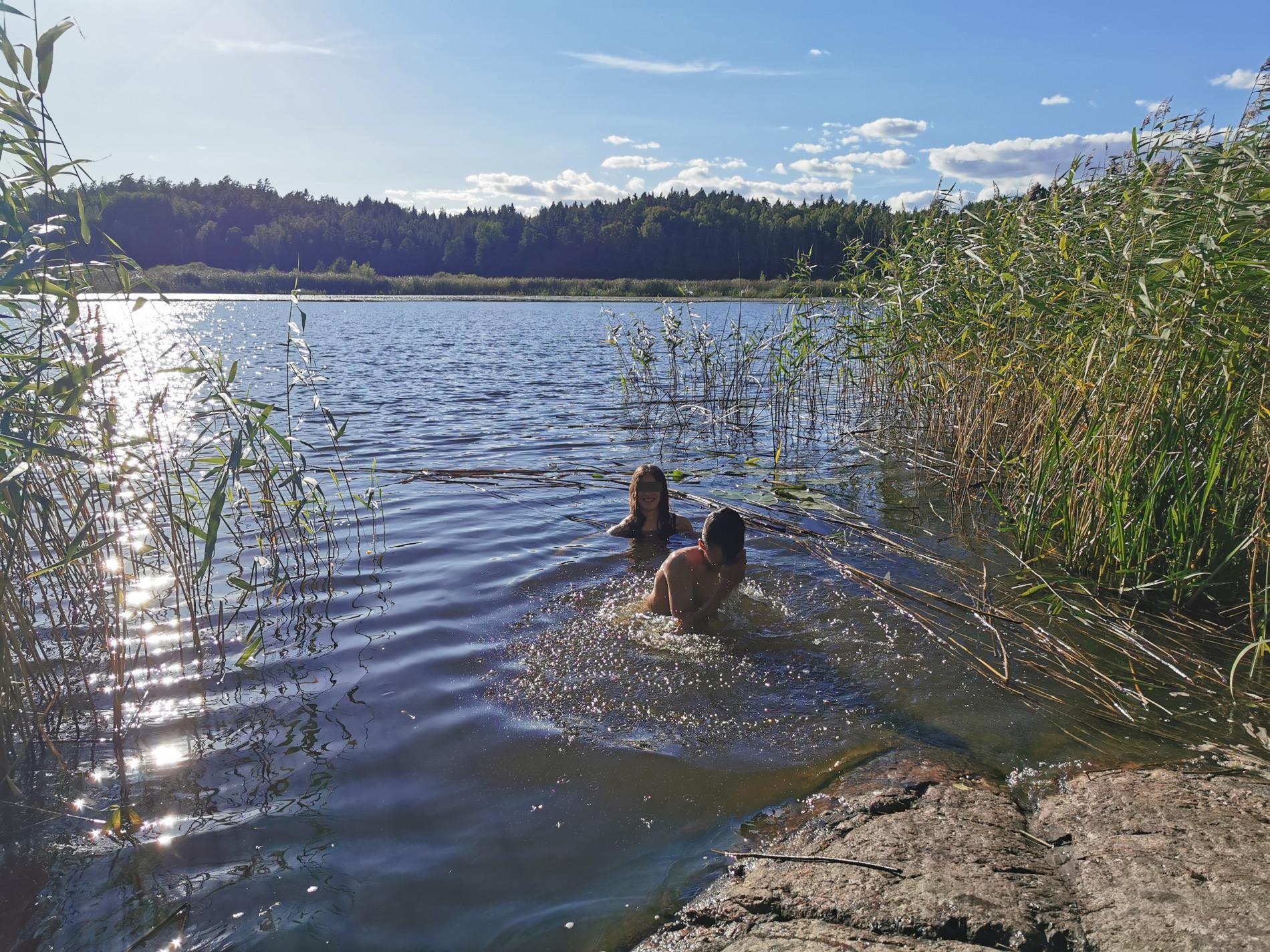 Baden im Mellsjön