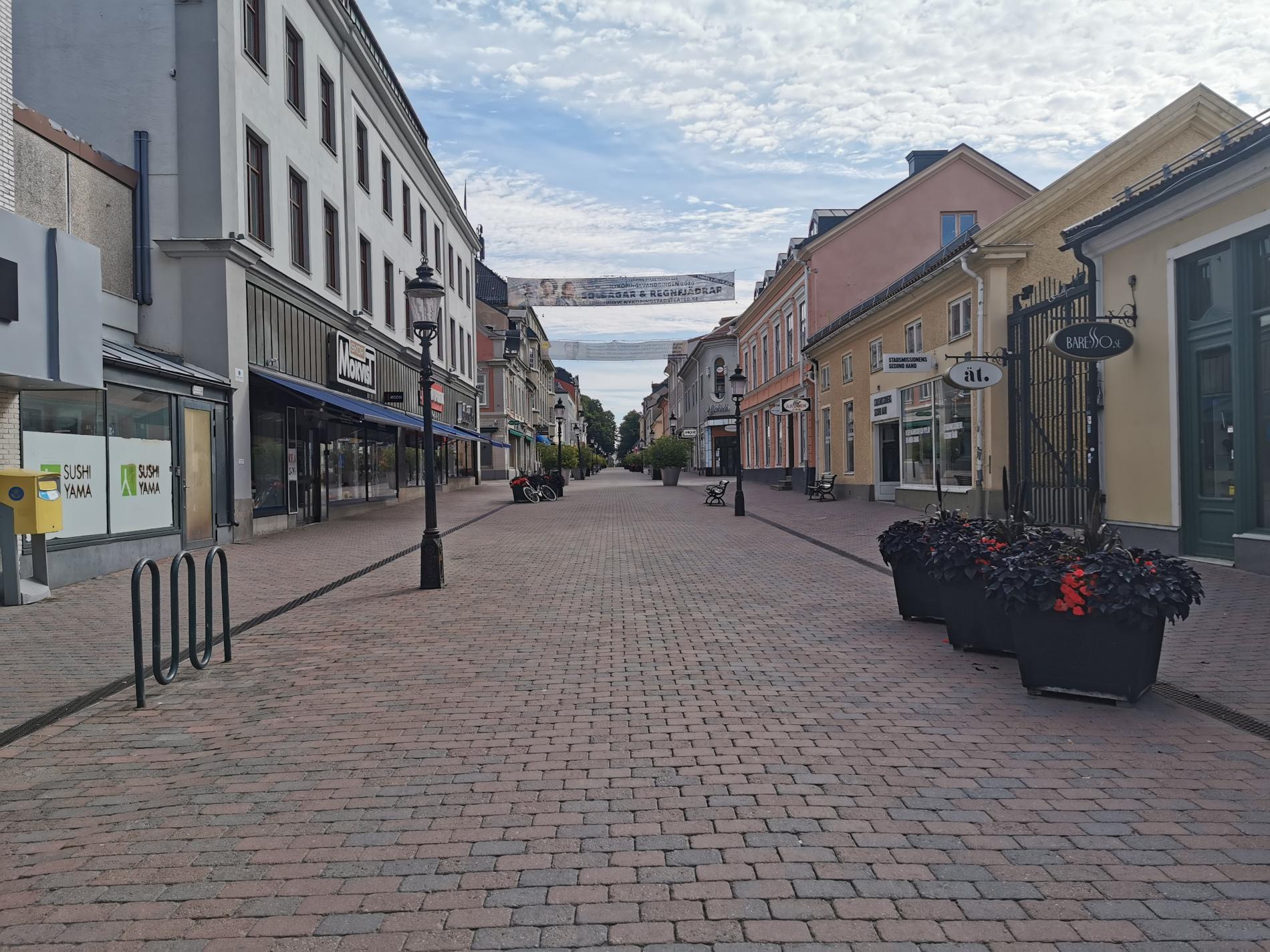 Nyköping am Sonntag